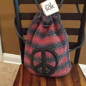 NWOT crochet backpack by the Sak